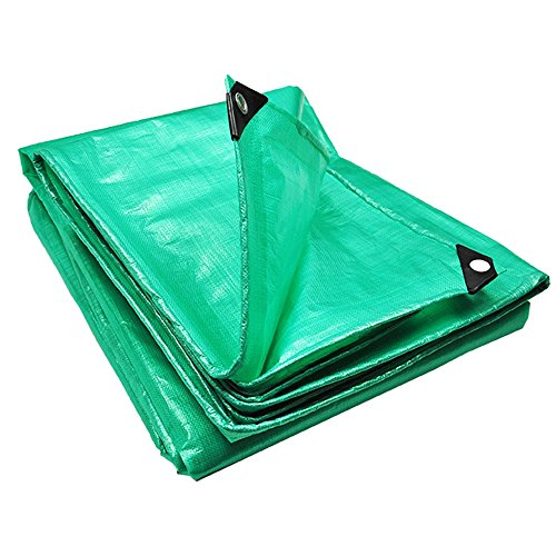 Tarpaulin NAN Heavy Water Resistant, Great for Canvas Tents, Boats, RV's or Pool Covers! (Size : 6*6m)