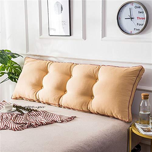 Driehoekig kussen, breed, rugkussen, dubbel, lang, bank, afneembaar en wasbaar. 60x50x20cm D