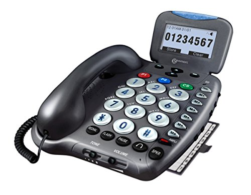 Ampli550 - Amplified Telephone with Talking Caller ID and Talking Keys