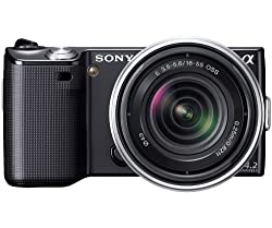 Sony NEX-5RK/B 16.1 MP Mirrorless Digital Camera