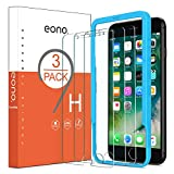 Eono Essentials Protection Ecran Compatible iPhone 6/6s/7/8 Verre Trempé avec Outil...