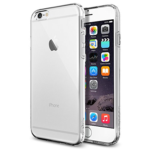 iPhone 6 ケース, Spigen®  ソフト TPU  Apple iPhone 4.7 (2014) カプセル The New iPhone アイフォン6 (国内正規品) (クリスタル・クリア 【SGP10940】)