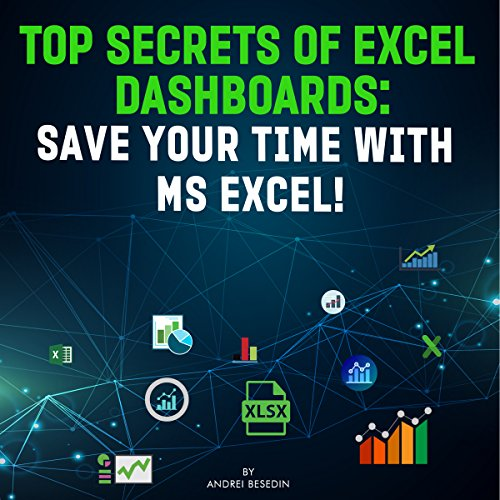 Top Secrets of Excel Dashboards audiobook cover art