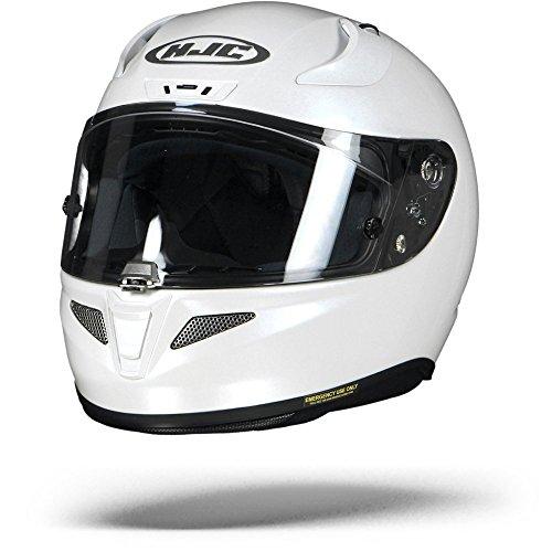 Casco moto HJC RPHA 11 Bianco Perla, Bianco, L