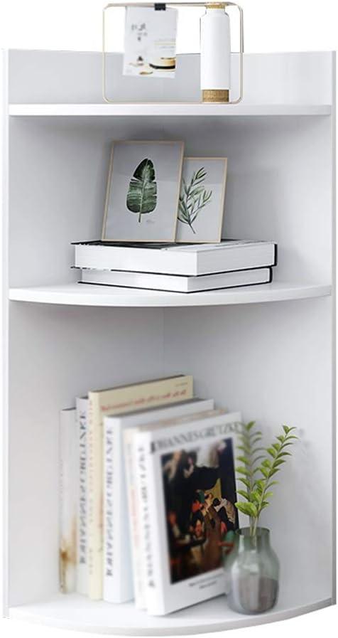 Corner Bookshelf Magazine Rack Stratification Storage 5% OFF Fashion Deskt