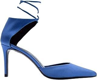 ALDO CASTAGNA Luxury Fashion Womens ELISE18080AZZURRO Light Blue Pumps | Fall Winter 19