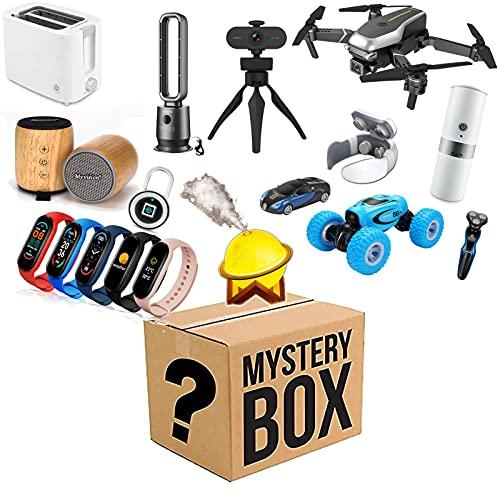 LLYA Artículo de Misterio (Producto Aleatorio) - Cajas de Suerte Hay la Oportunidad de Abrir: Drones, Relojes Inteligentes, Cualquier Cosa Posible: Todos los artículos Son nuevos