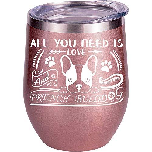 French Bulldog Gifts | MOM | For Women | Mug | Girls | Her | Christmas | Dog | Lovers | Coffee Cup | Wine Glass
