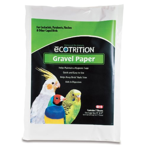 Ecotrition Gravel Paper for Birds, 8 3/4