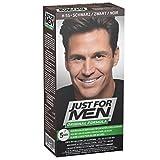 Just for Men - H55 - Pflege Tönungs Shampoo Haarfärbemittel, Natur schwarz