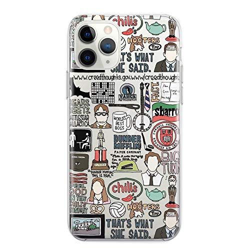 Dunder Mifflin Coffee Mug The Office Phone Case Dwight Schrute Michael Scott Quote iPhone 12 Mini 11 Pro 7 8 6 6s plus X Xs Max Xr 5s se 2 2020 Gifts Worlds Best Boss Schrute Farms Beets Clear Cover