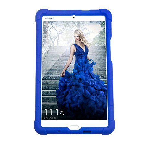 Huawei MediaPad M3 Tablet Case,MingShore Silicone Rugged Case for Huawei M3 Model BTV-DL09 BTV-W09 8.4 Inch Tablet Bumper Cover