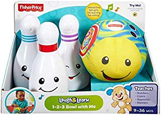 Fisher-Price Laugh & Learn 1-2-3 - Cuenco con texto en inglés
