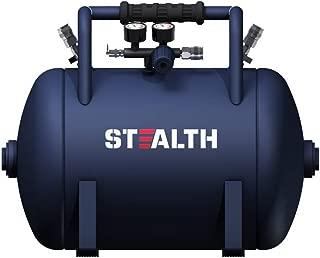 STEALTH Air Tank, 10 gallon High Pressure Air Tank with Maximum 225Psi Pressure, Ideal For Inflation Jobs, Blue-Saa-110T