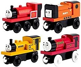 Learning Curve Brands Thomas and Friends Wooden Railway - Narrow Gauge Engine Giftpack