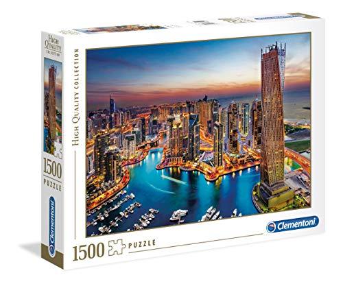 Clementoni Puzzle 1500 Piezas Dubai Marina, Color (31814)
