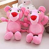 JKLI Soft Mini Pink Panther Plüschtier, Stoff Pink Panther Plüsch Plüschtiere, for Kinderbett Spielzeug 2 Stück Wangwu