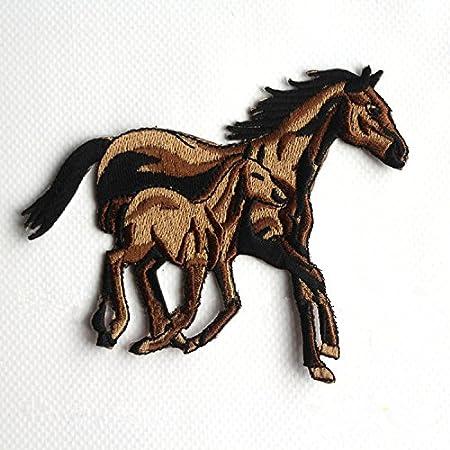Parche termoadhesivo con dise/ño de caballo