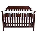 Trend Lab Waterproof CribWrap Rail Cover - for Narrow Long Crib Rails...