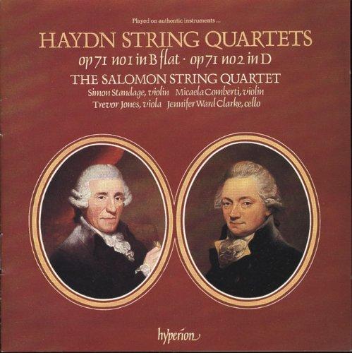 Streichquartette Op.71,1+2