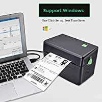 Etichettatrice per etichette di classe commerciale Stampante per etichette di spedizione diretta per DHL UPS FedEx Amazon - 4XL - Stampante termica per PC/Mac #2