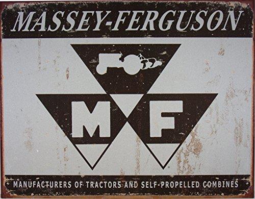 Massey Ferguson logo (grey) blechschild