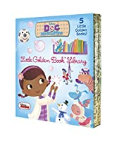 Doc McStuffins Little Golden Book Library (Disney Junior: Doc McStuffins): As Big as a Whale; Snowman Surprise; Bubble-rific!; Boomer Gets His Bounce Back; A Knight in Sticky Armor