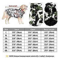 ペット 犬のジャケット大型犬服暖かいペットのコートビッグ犬ラブラドールオーバーオールフレンチブルドッグ服のための防水冬服 (Color : 黒, Size : 2XL)