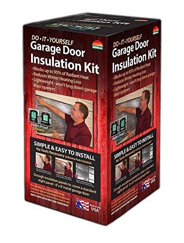 Reach Barrier Pack of 2 Reach Barrier Garage Door Insulation Kit