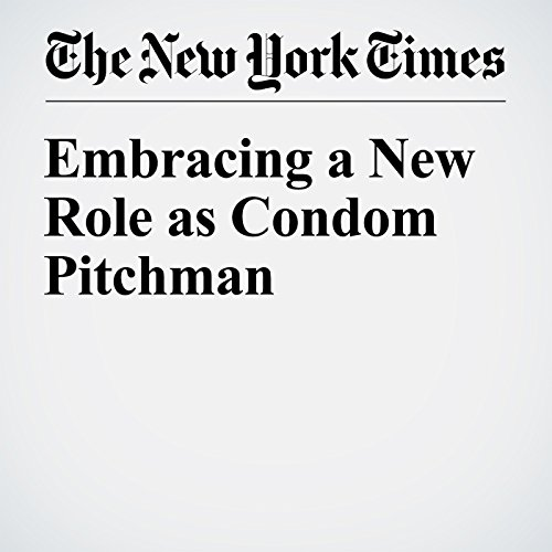 『Embracing a New Role as Condom Pitchman』のカバーアート