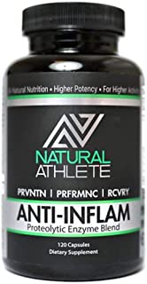 Anti-Inflammatory   Extra Strength Proteolytic Enzymes + Probiotics   Natural Systemic Inflammation Relief for Arthritis a...