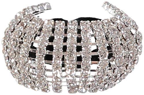 Allure Women's Rhinestone Ponytail Holder