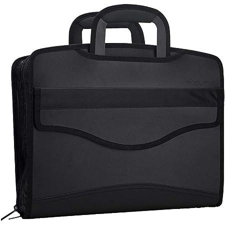 LY® Sac d'Affaires MultiFonction Grande Capacité Pour Homme Commercial Trieur A4 Serviette Porte-documents Sacoche Pour MacBook Tablette
