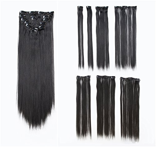 SWACC 22 Inches Thin Hair Extensions