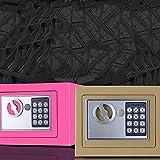 CONSUNDYTT Caja Fuerte para Casa, Caja Fuerte De Muebles Caja Fuerte Digital PequeñA Caja Seguridad ElectróNica Cerradura De CombinacióN Usado para Oficina Casa Hogar Objetos De Valor Hotel