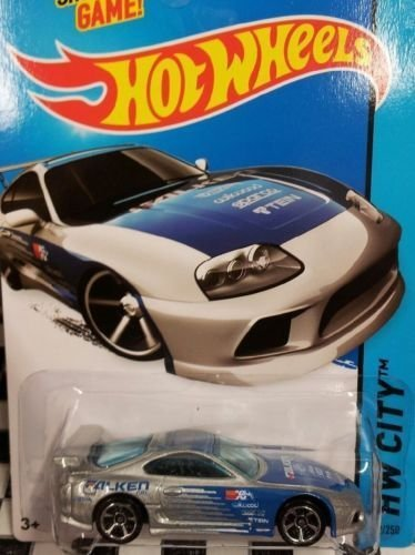 Toyota Supra Silver 2015 Hot Wheels Kmart Only