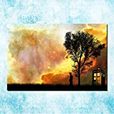 LOIUYT Dr. Van Tardis sul poster in tela di seta della serie TV stellata 50x75cm