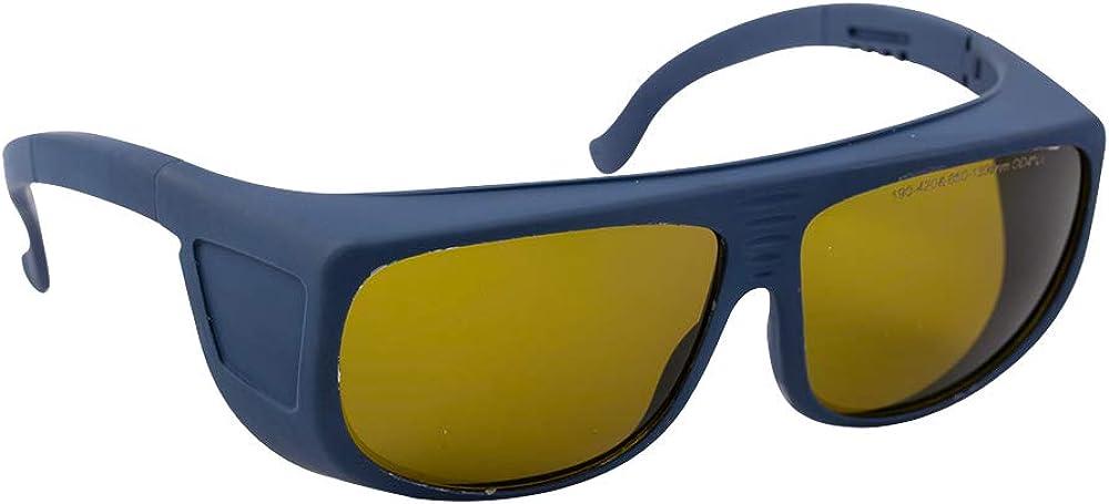 Cloudray Gafas de seguridad láser 1064nm 850-1300nm OD4 + CE Gafas protectoras para láser de fibra