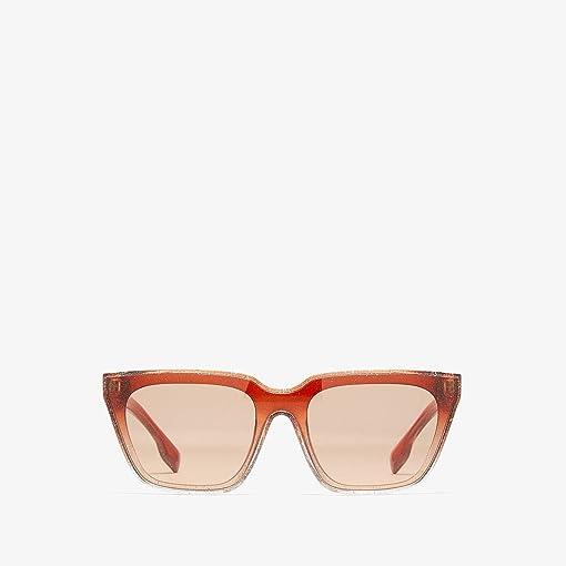 Glitter Transparent/Top Gradient/Brown