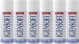 Rampi Deo Multipack Igiensoft – Spray desodorante higienizante profesional para tejidos, ambientes, coche, zapatos, armario, perfume, hotel, lavandería – 6 x 400 ml
