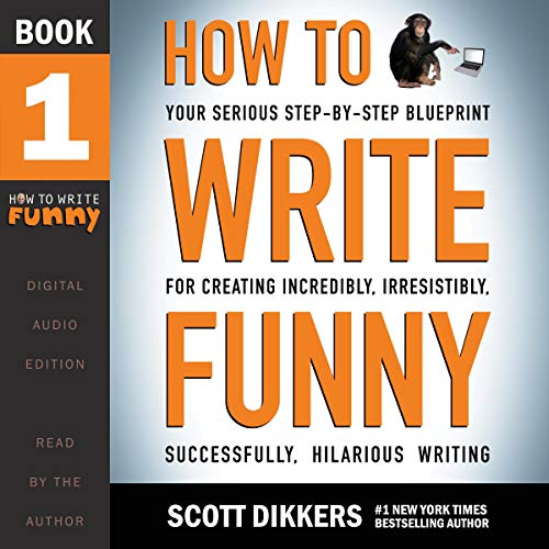 How to Write Funny audiobook cover art