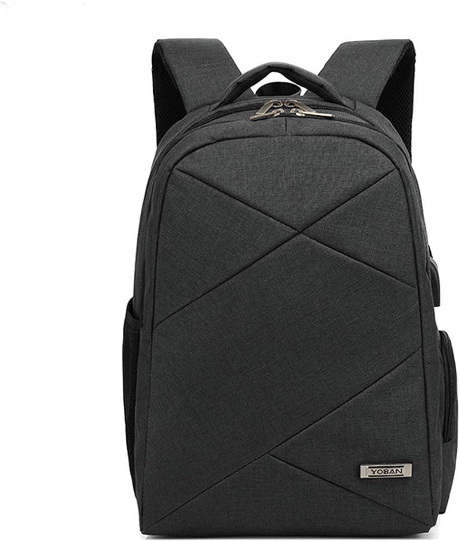 Smart USB Charging Backpack, Casual Business Men's Bag, Waterproof Notebook Backpack, Travel Bag