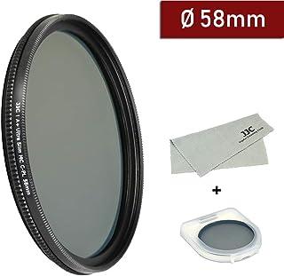 CPL Circular Polarizer Glare Shine Polarizing Filter for Canon EF 28mm f//1.8 USM Lens