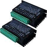 2 controladores de motor paso a paso TB6600 4 A 9 – 42 V tb6600 32 segmentos 2/4 fase híbrido...
