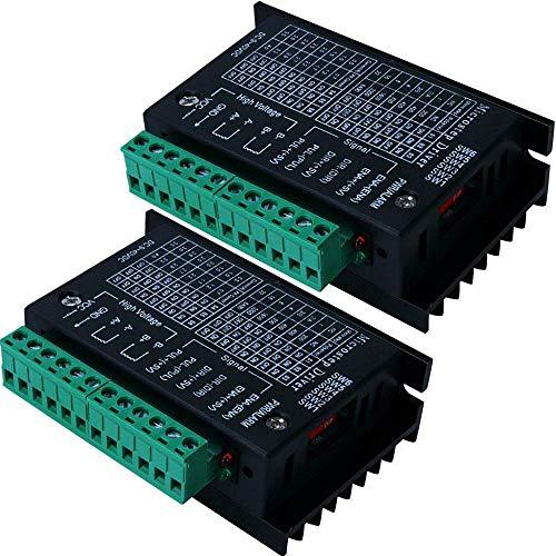 2 controladores de motor paso a paso TB6600 4 A 9 – 42 V tb6600 32 segmentos 2/4 fase híbrido paso a paso motor placa de controlador