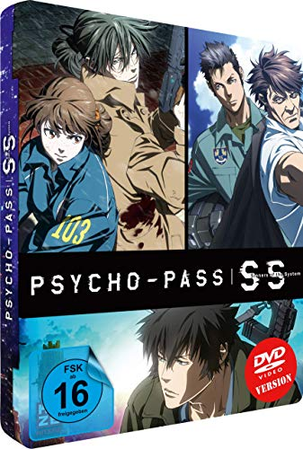 Psycho-Pass: Sinners of the System - (3 Movies) - [DVD] - Steelcase