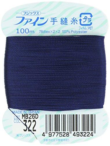 フジックス ファイン 【手縫い糸】 #40 100m col.322