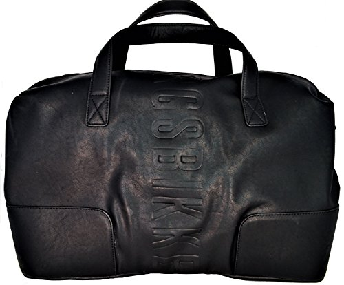 Dirk Bikkembergs Db Army, Bolso de Mano. para Hombre, Negro (0a2 Black), 25x28x50 cm (W x H x L)