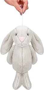 Peluche Soft Bunny Toy, 35cm / 13.8 Pulgadas Muñeca de Felpa de Peluche Lovely Felpa Lindo Big Bunny Collection Regalo de Pascua, Juguete Divertido de los niños/Juguete de Regalo Tiempo de Matar Jug