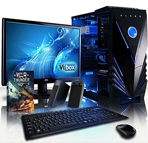 Vibox Crusher Vibox Neon Azul (Pacchetto) 8GB RAM, 1TB HDD, senza Windows